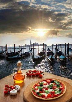 La pizza di Venezia