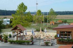 Ihr Campingplatz in Gunzenhausen Cabin, House Styles, Outdoor Decor, Camper, Home Decor, Rv Camping, Campsite, Destinations, Travel