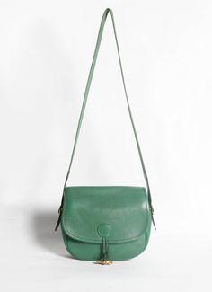 Hermès | Vintage Green Balle de Golf Bag | RESEE