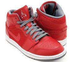 Air Jordan 1 Phat - Varsity Red/Cool Grey