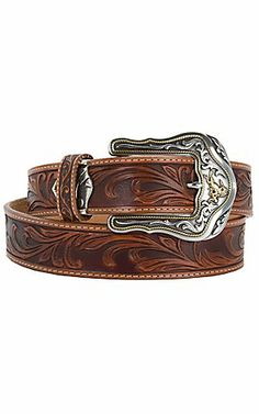 * Tony Lama® Mens Western Belt C41514 | Cavender's. Size 38 or 40