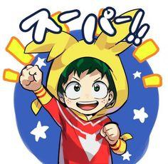 #MyHeroAcademia #Dessin #Fanart mohi_100 #IzukuMidoriya #Anime #Manga