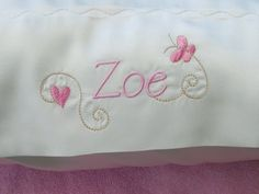 Handmade Personalized Satin Pillowcases Pair by SusiesSewCreative