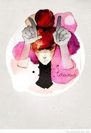 TAURUS GIRL ART
