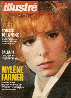 Mylène Farmer , Illustré (Suisse) - 02 mars 1988