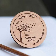Love Birds on Swing Under Tree Save the Date Magnets – Wedding Favors – Gift Tags – Laser cut and Etched on Wood 50 + love Birds on Swing sotto albero salvare the data magneti – Bomboniere – regalo Tag – taglio Laser e incisi su legno Wedding Gifts For Guests, Wedding Favors Cheap, Trotec Laser, Wedding Favours Magnets, Gravure Laser, Save The Date Magnets, Love Birds, Laser Engraving, Laser Cutting