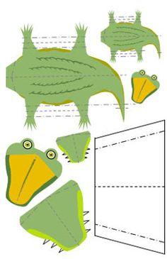 Libros Pop-Up Books Cards: Cómo Hacer un Divertido Libro Pop-Up de Animales! Pop Up Card Templates, Leather Tooling Patterns, Pop Up Art, Paper Pop, Paper Animals, Animal Books, Paper Crafts For Kids, Paper Models, Creative Kids