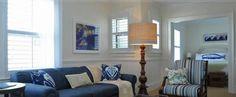 One of the Nantucket Hotel guest rooms, with art picked by Kate. Hotel Guest, Sofa, Couch, Guest Rooms, Furniture, Home Decor, Art, Art Background, Kunst