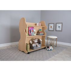 Ace Baby Furniture Lion Mobile Double-Sided Bookcase - MBLBL1040