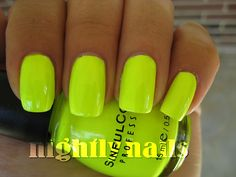 "Sinful Colors Nail Polish in ""Neon Melon"" $2"