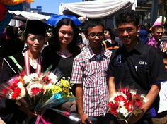 Congraduation peet. Enjoy for your next journeys. May God bless you always saudara PA.