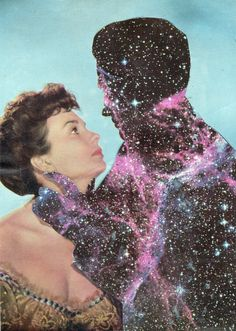 "Saatchi Online Artist: Joe Webb; Photomontage, 2011, Assemblage / Collage ""Antares and Love"""