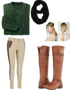 "Everything Equestrian - ""English Riding Day"" (i love the jumper + jodhpurs)"