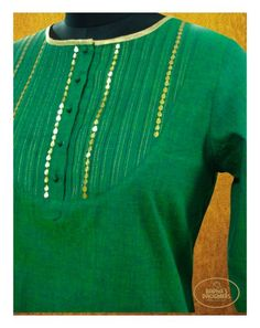 Green Kurta #GotaPatti #Indian #EthnicFashion #FestiveStyle