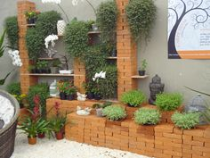 great idea for my outdoor garden room - From Holambra 2013