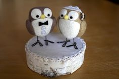 More owl cake toppers