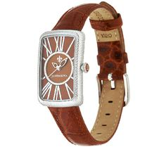 Style with a bite. Decorated with a croco-embossed pattern along the lush leather strap, this Judith Ripka watch is a sly and sleek finishing touch for your everyday ensemble. From Judith Ripka.<br><br>White, Pink, Cognac, Lavender, Black, or Teal. QVC.com