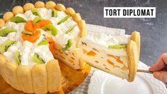 Romanian Food, Sushi, Bakery, Deserts, Sweets, Ethnic Recipes, Charlotte, Youtube, Pie