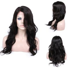 Life Diaries 150% Density Body Wave New Style Glueless Silk Top Lace Front Wigs 8A Unprocessed Brazilian Virgin Human Hair Natural Hairline Bleached Knot Free Part With Baby Hairs(12, nature color) * This is an Amazon Affiliate link. Read more at the image link.