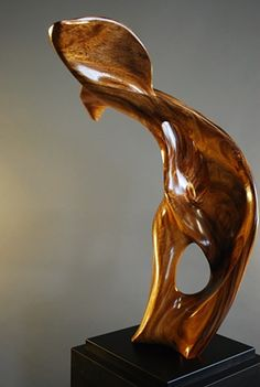wood sculpture abstract - Recherche Google                                                                                                                                                                                 More