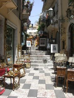 Taormina, Sicily , Italy. Want to feel like the Godfather in Sicily? Here's how http://www.best-italian-wine.com/where-to-stay-in-sicily.html