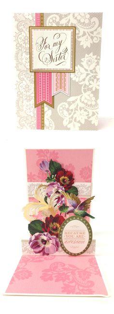Anna Griffin Pretty Pop Ups Card Making Kit