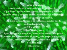 Chakra Corazón. Color Verde.