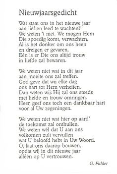 Nieuwjaarsgedicht G Fidder Bible Quotes, Words Quotes, Sayings, Quality Quotes, One Liner, Verse, Quotes About God, Heavenly Father, True Words
