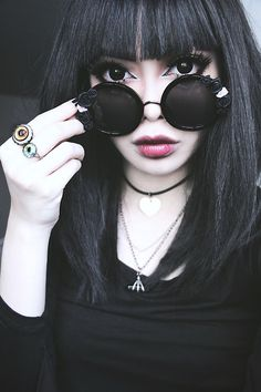 just my great babe Wylona Hayashi, a tippy top model Punk Outfits, Grunge Outfits, Pastel Grunge, Grunge Hair, Soft Grunge, Harajuku, Dark Beauty, Gothic Beauty, Beauty Art