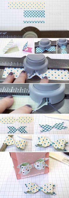 Bow making with Punch Board
