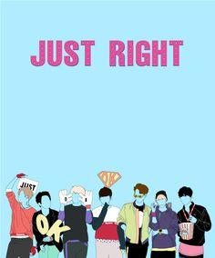 Resultado De Imagem Para Got7 Just Right Wallpaper