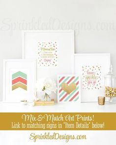 Mimosa Bar Party Sign Mimosa Bar Printable by SprinkledDesign
