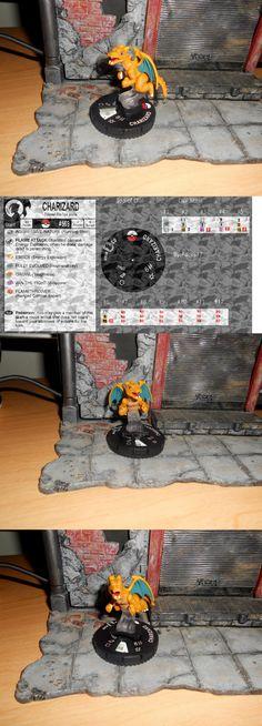 Mixed Lots 44004: Custom Heroclix Charizard - Pokemon Fire Type Figure Miniature Go Dragon -> BUY IT NOW ONLY: $30 on eBay!