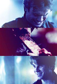 Kol torturing Damon - The Vampire Diaries