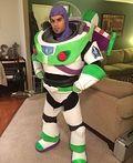 Buzz Lightyear Homemade Costume - 2014 Halloween Costume Contest
