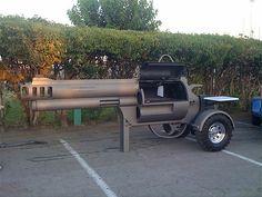 Revolver BBQ Grill