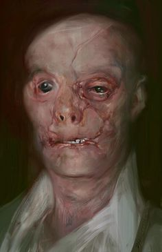 "RAD! Painting of ""Mason Verger"": Hannibal, Thomas harris"
