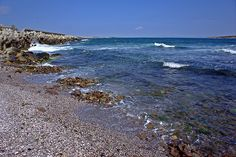 Sea Shore in the Vicinity of Sozopol I (At the Seaside Resort in Bulgaria, Europe)