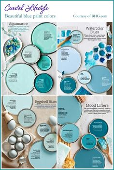 Beautiful blue paint colors to inspire you!