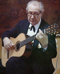 Andrés Segovia guitarra clásica. Español (1893-1987)