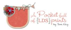 Oodles of LDS printables! A Pocket full of  LDS prints