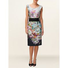 Buy Phase Eight Bloom Belted Dress, Multi Online at johnlewis.com