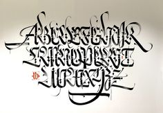 Arabic Alphabet - Abu Dhabi - NYUAD by Luca Barcellona - Calligraphy & Lettering Arts, via Flickr