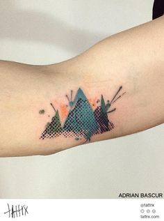 Adrian Bascur NVMEN Tattoo - Mountains tattrx.com/artists/adrian-bascur tumblr: nvmen