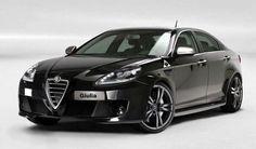 2014 Alfa Romeo Giulia Black