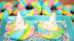How to Make Rainbow Unicorn Bagels