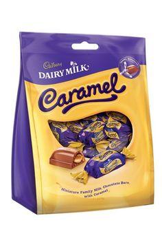 Cadbury Caramel Chocolate Bonbon