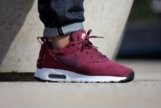 Nike Air Max Tavas LTR Night Maroon/Team Red-Sail - 802611-602