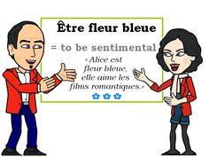 L'expression du jour : « être fleur bleue » [ɛtʀ flœʀ blø] #Expressionoftheday #learnfrench  Les Machin (@Les_Machin) | Twitter