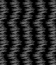 monochrome black and white print pattern fuzzy lines stripes